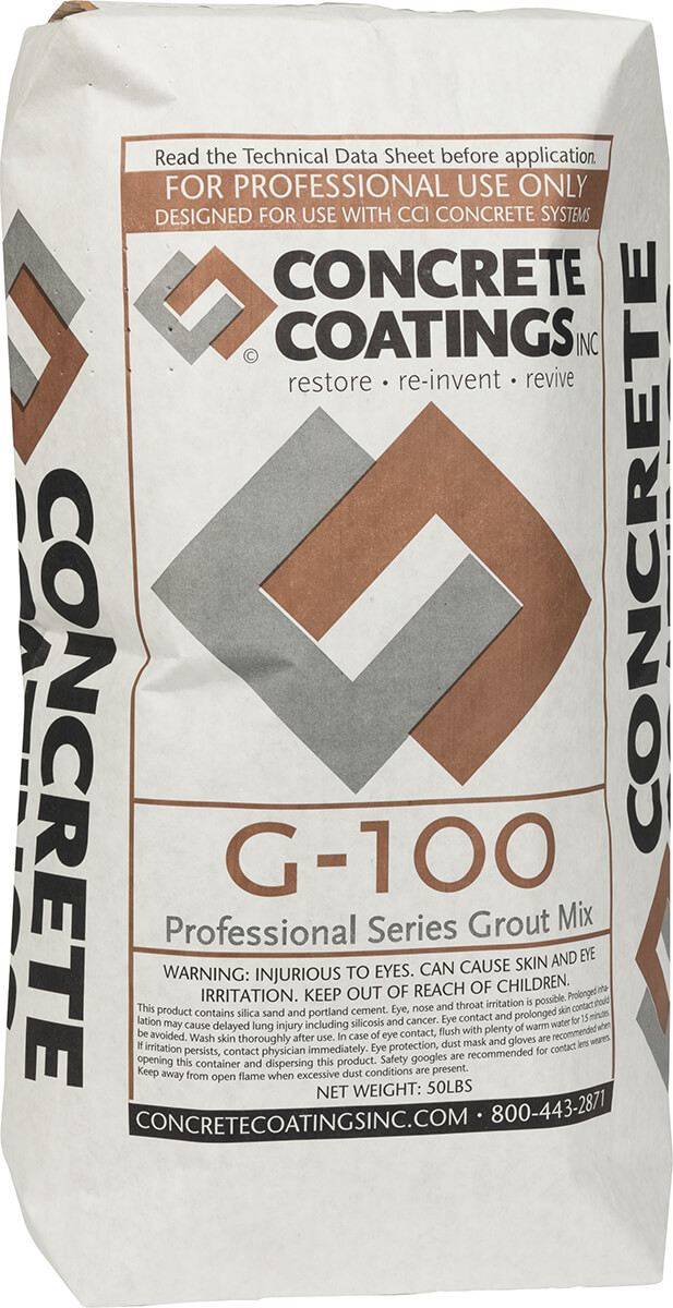 G-100 Pro-Series Grout Mix™