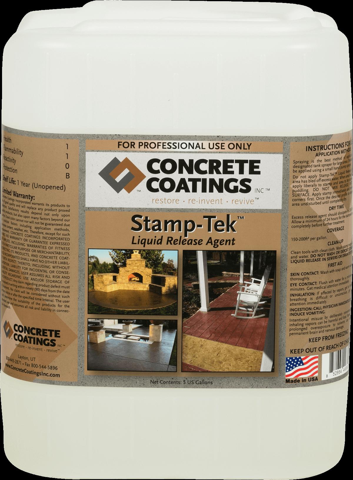 Stamp-Tek™ Liquid Release